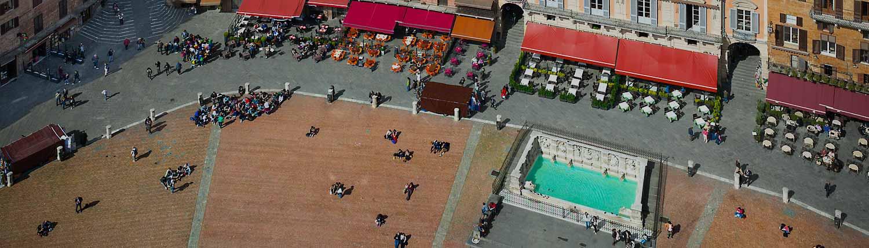 Fontana di Piazza del Campo - Fontana di Piazza del Campo - Fonte Gaia