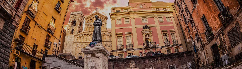 Cagliari - Piazza Carlo Alberto