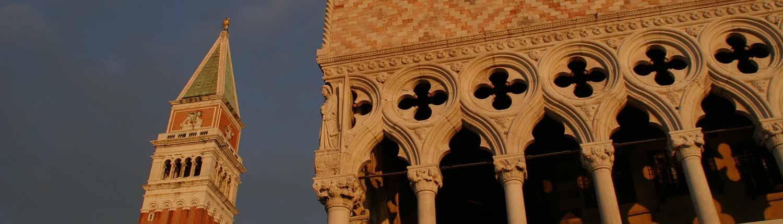 Palazzo Ducale e Campanile - Palazzo Ducale e Campanile di Venezia in Piazza San Marco